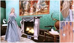 By the Fireplace (eloen.maerdrym) Tags: cats nc fireplace victorian medieval fantasy emotions musa papermoon tabou gorean lassitudeennui wltb serenitystyle roawenwood kaerri {rw} welovetoblog weloveroleplay {zoz} thegardengacha noblecreations eloensotherworld