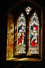 light and colour (Sundornvic) Tags: old light church window glass st stone ancient stained sacred eata