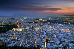 Athens at Dusk (hapulcu) Tags: athenes athens atina attica grece grecia greece griechenland dusk sunset