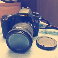 Canon EOS 70D with 18-55mm IS STM Lens. My first DSLR Camera bought in my life, hoping to click awesome photos as a hobby and this interest will motivate me to take photos, and upload them right here!  #dslr #camera (sameehaque) Tags: canon photography journey learning dslr bestbuy bangladesh enjoyment professionalphotographer awesomeness dslrphotography photographyskills photographyislife canonlovers canon70d instagramapp clickphotos
