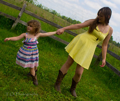 Rebecca & Chloe19 (to.photography) Tags: park family blue red summer brown sun white flower green love nature girl grass sunshine yellow laughing fence walking mom outside outdoors photography warm child dress purple photoshoot boots pair spin mommy daughter mother smiles warmth chloe mama dresses shade spinning rrr cowgirl rd cvr owens barndoor cowgirlboots motherdaughtershoot tophotography jumpingg taylorwowens rebeccarackley chloerackley
