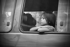 going home (Stitch) Tags: home girl car waiting looking little philippines going sanjuan riding manila passenger weekly quezoncity