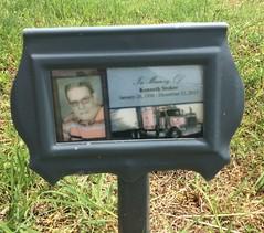 Stoker Grave Marker (eloisedv) Tags: oklahoma cemetery gravemarker cartercounty lonegrove