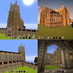 ICYMI It took Duke student Xin Lu two months to build the entire Duke Chapel on his #Minecraft server. ( credit: @jiazhuo0528 via @dukestudents) (Duke University) Tags: university duke instagram ifttt