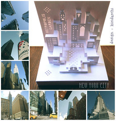 Metropolis garden (kiridarchi) Tags: new york city newyork building architecture origami empire kirigami popup chryslerbuilding coffret kirigamicarchitecture