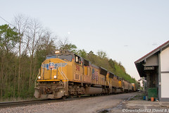 UP 3911 EMD SD70M (11A) (Trucks, Buses, & Trains by granitefan713) Tags: railroad up train unionpacific locomotive railfan freighttrain manifest singletrack railline emd sd70m consist electromotive mixedfreight sunburyline foreignpower emdsd70m nssunburyline