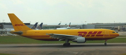 Airbus A300: 0836 D-AEAF A300B4-622R(F) DHL London Heathrow Airport