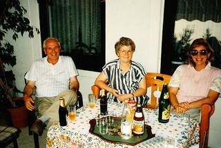 West Germany    -    HerbornSeelbach    -   Fritz, Gisela & Me    -   19 August 1989