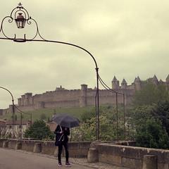 Je m'en vais (Jordi Aragon) Tags: nikonf801 nikkor50mmf14d kodakporta160 film analog carcassonne payscathare aude sud