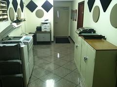 Epoxy Tile - Office (Decorative Concrete Kingdom) Tags: tile office flake epoxy chip