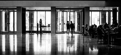 Inside the Bodleian Library (judy dean) Tags: street people silhouette reflections cafe library oxford bodleian 2016 judydean sonya6000