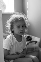 A series in chickenpox_3 (GrelaM) Tags: people blackandwhite monochrome child chickenpox illness
