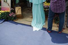 (yangkuo) Tags: flow dress turquoise chiffon material malay silky preweddingshoot