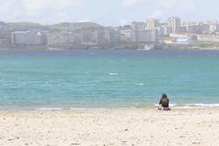 A Coruña beach