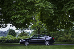 Saab 900 (Wictor Madsen) Tags: car forest photography profile turbo saab 900 dmmesmoen