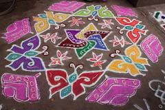 Butterfly kolam.jpg (melissaenderle) Tags: kolam asia design tamilnadu