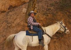 Horse ride at Bryce 08 (Dave Bezaire) Tags: utah unitedstatesofamerica brycecanyon sanimal vedit sperson label~ rating3~ csouthwest