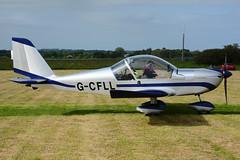 G-CFLL.Eshott180616 (MarkP51) Tags: gcfll aerotechnik ev97 eurostar eshott greatnorthflyin2016 light aircraft generalaviation airplane plane image markp51 nikon d7100