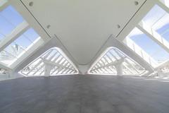 Patio interior (Rafa Barajas) Tags: espaa white blanco geometric valencia architecture canon spain arquitectura europa europe imax 80d