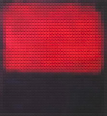 Lego Rothko (William Keckler) Tags: digitalart legos pixelart rothko bauhaus abstraction pixels colorfields colorfield markrothko abstractions rectilinear abstractexpressionism legoart digitalrothko distijl colorfieldpaintinglego legoabstraction digirothko