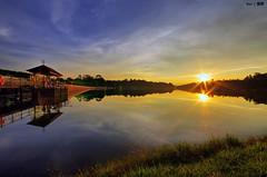 Sunset @Macritchie Reservoir #2 (Ken Goh thanks for 2 Million views) Tags: bridge blue sunset 2 sky cloud sun reflection water golden reservoir macritchie broadwalk dblringexcellence tplringexcellence rememberthatmomentlevel1 rememberthatmomentlevel2 rememberthatmomentlevel3