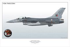 F-16AM Força Aérea Portuguesa (Fox-two.com) Tags: f16 jaguares generaldynamics f16a fap f16falcon montereal f16am forçaaéreaportuguesa esquadra generaldynamicsf16 f16mlu 15133 esquadra301jaguares 301squadron foxtwocom esquadra301 airbase5 airbase5montereal 301squadronjaguares thierrylemasson