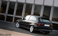 Opel Astra GSi (Mr. Dexter) Tags: auto winter white cars car wheel sport canon eos 350d 50mm 1 low wheels arc fast grand automotive f vehicle setup kit 16 1855mm f18 rim rims astra opel vauxhall stance gsi samochód i et35 c20ne 75j