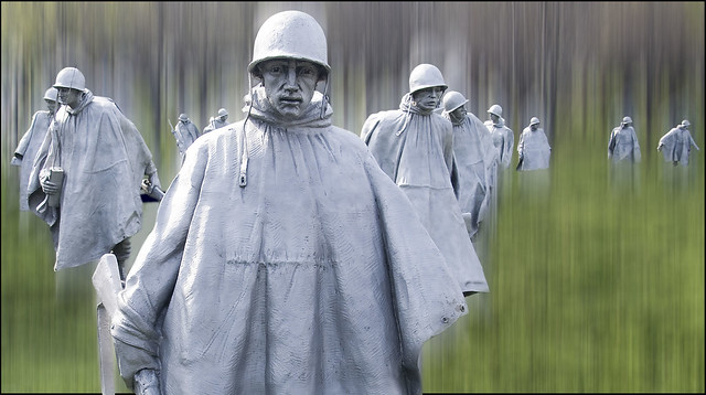 Korean War Veterans Memorial -- Washington (DC) 2012