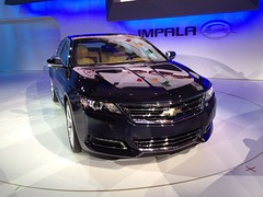 2014 Chevy Impala at the 2012 New York International Auto Show