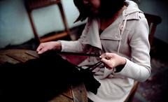 Sexyback Couture photoshoot (Steve_Ting) Tags: leica newzealand art film analog kodak trix documentary craft tshirt rangefinder story dunedin portra steveting sexybackcouture