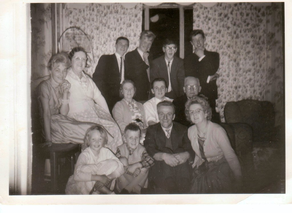 Party at the Frosts. 1960