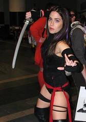 Psylocke (FranMoff) Tags: costume cosplay xmen comiccon 2012 psylocke costumer bostoncomiccon bostoncomiccon2012