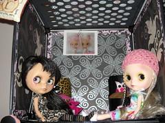 Kinder and Sookie in their room