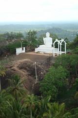 Buddha Statue, Mihintale, Sri Lanka (Hasitha Rangana) Tags: temple buddhisttemple sacredsite anuradhapura anuradapura sagiri mihinthale segiri missaka cetiyagiri solosmasthana missakapabbata missakapawwa missakapavva