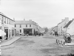 Main Street, Belturbet, Co. Cavan, late 19th century (National Library of Ireland on The Commons) Tags: ireland awning mainstreet shoes boots donkeys barrel luggage pump perth shops thatch agent blankets cavan leonard rugs carts crates policeman ulster belturbet devine glassnegative 1899 butlerstreet robertfrench williamlawrence nationallibraryofireland dampproof fuls bulked lawrencecollection lawrencephotographicproject federationforulsterlocalstudies federationoflocalhistorysocieties pullarsdyeworks hamiltonsirishhouse