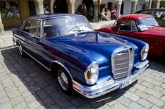 Mercedes-Benz 250SE Coupe W111 (1965) (The Adventurous Eye) Tags: mercedesbenz 250se 250 se w111 coupe tel sraz vetern veternsk classic cars meeting 552012 veterni v teli klasici klasiky