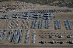 Aerial View, Lockheed C-5 Galaxies and Assorted Aircraft, AMARG Boneyard (Peter Cook UK) Tags: arizona tucson aerialview boneyard amarg lockheedc5galaxy