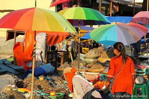 Colourful Market, Waikabubak, Sumba Barat