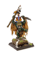 Wurrzag Orc Shaman (vandalworks) Tags: world club death grey blood marine wolf chaos space tomb models company kings angels workshop scouts warhammer knight rough forge alpha rider shaman wolves orc legion wargames eternal chaplain assassin tredegar inquisitor lucius slaanesh adeptus arbites techpriest wurrzag