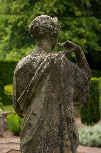 Statue of a Woman at How Caple Court