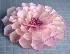 Wafer Paper Dahlia (Once Upon A Pedestal) Tags: cake fantasyflower waferpaper ediblericepaper onceuponapedestalblogspotcom wwwonceuponapedestalblogspotcom