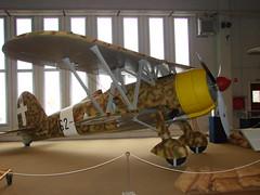 Italian CR-42 Vigna di Valle (Danner Poulsen) Tags: museum fiat valle di airforce fascist regia falco benito mussolini  aeronautica marenostrum vigna   cr42 italyairforce  regiaaeronautica itaf  20120420