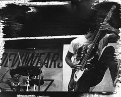 The Devil Wears Prada (stephgomez.com) Tags: blackandwhite darkroom paint warpedtour nj process effect spash 2012 digitalnegative oceanport thedevilwearsprada tdwp stephgomez
