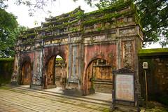 Ancient Gate II (straehle) Tags: vietnam hue imperialcity