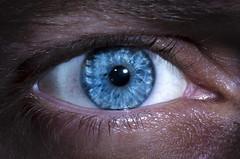 Round (PictureNoob) Tags: blue eye focus eyelashes vision pupil retina ourdailychallenge
