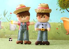 Oh dvida cruel! (Ei menina! - rica Catarina) Tags: boy craft feltro fazendinha festajunina handmande lembrancinhas