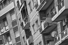 (mauspray) Tags: city windows urban italy wall architecture nikon balckandwhite e balconies parete ghetto bianco nero abruzzo citt muri pescara d300 balconi 180mm