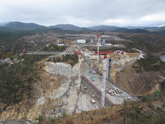 New Cotter Dam (spelio) Tags: dam australia canberra act cotter