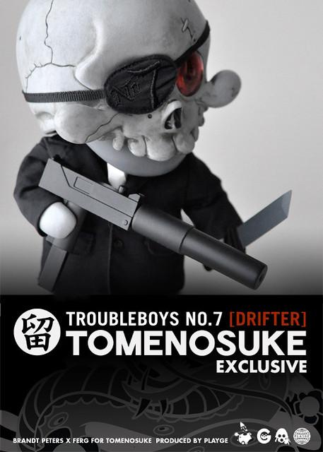 留之助限定 TROUBLEBOYS NO.07 [DRIFTER]
