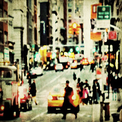 streetlife (fotobananas) Tags: life city nyc urban newyork blur texture square manhattan soho broadway streetlife canalstreet hss s95 skeletalmess fotobananas sliderssunday